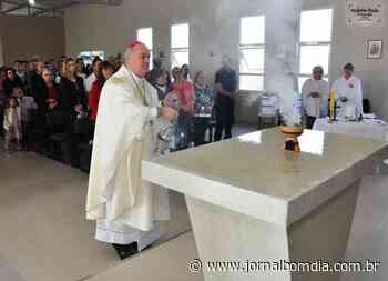 Inauguração da capela São Mateus do Bairro Agrícola II de Erechim com dedicação de seu altar | Jornal Bom Dia - Jornal Bom Dia