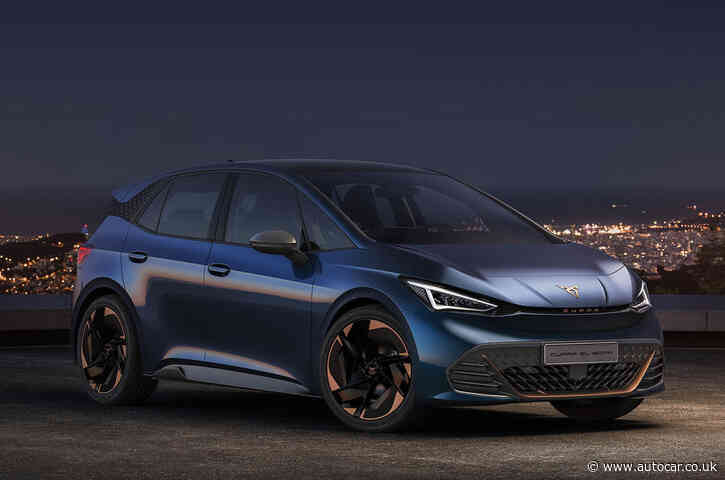 Cupra plots rapid electric transition and sales growth in 2021