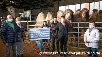 1000 Euro und Gutscheine für Zirkusfamilie in Reislingen