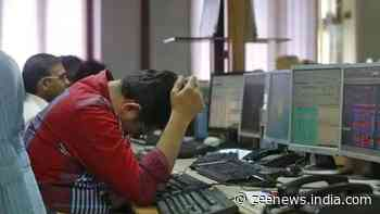 Markets extend losses for 5th straight session, Sensex tanks 1,145 points; Nifty drops below 14,700