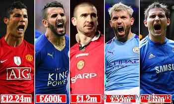 Top five Premier League transfers in history ranked: How does Lampard compare to Ronaldo or Salah?