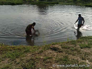 Moradores encontram corpo de homem em açude na cidade de Cajazeiras - Portal T5
