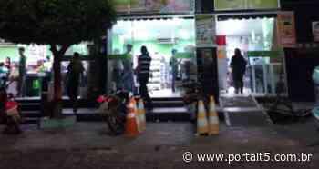 Decreto limita funcionamento do comércio, bares e restaurantes em Cajazeiras - Portal T5