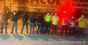 Operação Carnaval é realizada em Cajazeiras para evitar avanço da Covid-19 - Diário do Sertão