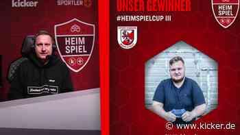 Heimspiel-Cup #3 by kicker & SpielerPlus: SV Wahlstedt gewinnt FIFA-Turnier - kicker