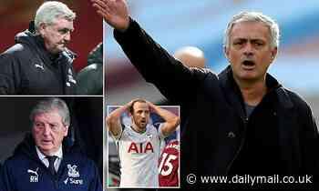Tottenham boss Jose Mourinho now LEADS the Premier League sack race
