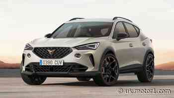 Cupra Formentor VZ5 hot SUV revealed with inline-five Audi power