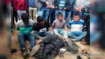 Huanta: Liberan a presuntos asaltantes de carretera - Jornada