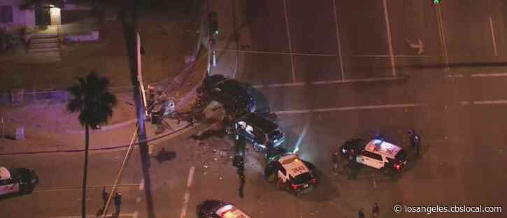 Suspect Shot By Police After Pursuit Through Riverside