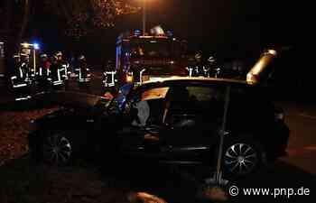 19-Jährige prallt mit dem Auto gegen Steinmauer - Passauer Neue Presse