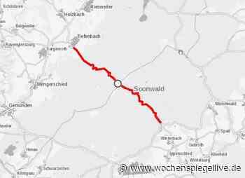 Vollsperrung zwischen Kreershäuschen und Tiefenbach Hunsrück/Nahe. Der Landesbetrieb Mobilität - WochenSpiegel