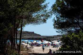 Las playas de Menorca tuvieron un 29% menos de usuarios en 2020 - Menorca - Es diari