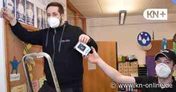 CO2-Melder im Klassenraum: Vorbereitung auf Präsenzstart in Kronshagen - Kieler Nachrichten