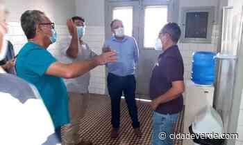 Florentino Neto articula ampliação de leitos no HEDA em Parnaíba - Parnaiba - Cidadeverde.com