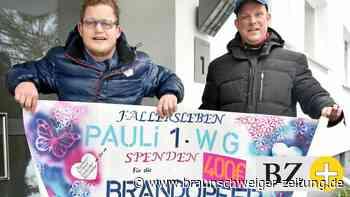 """Inklusive WG """"Pauli1"""" spendet für Fallersleber Großbrand-Opfer"""