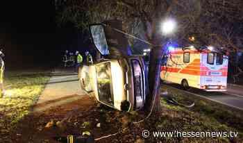 Gudensberg: 18-Jährige bei Alleinunfall verletzt - Hessennews TV