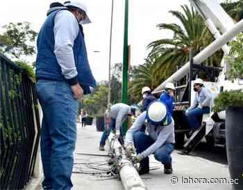 Varios sectores de Píllaro se quedan sin luz - La Hora (Ecuador)