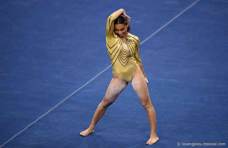 After Floor Routine Set To Her Songs Goes Viral, Janet Jackson Requests Tumbling Lessons From UCLA Gymnast Margzetta Frazier