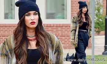 Megan Fox spotted on maskless outing days after denouncing FAKE anti-masker Instagram post