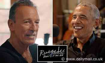 Barack Obama and Bruce Springsteen release Spotify podcast series