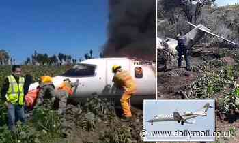 Mexican military investigates Air Force plane crash that killed at least six servicemen