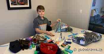 Oromocto, N.B., boy sparks donation frenzy at homeless shelter - Globalnews.ca