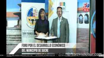 En vivo: Foro de candidatos a la Alcaldía de Sucre - Correo del Sur