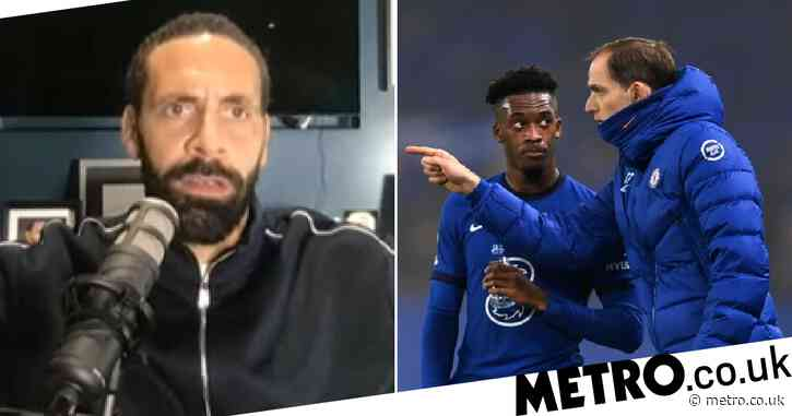 Rio Ferdinand reveals advice to Chelsea's Callum Hudson-Odoi after being subbed off by Thomas Tuchel
