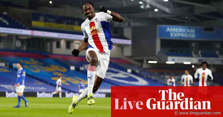 Brighton v Crystal Palace: Premier League – live!