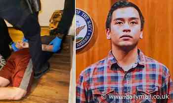 Navy veteran, 30, dies after police knelt on his neck for five minutes
