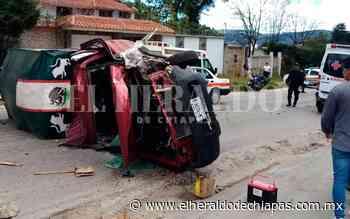 Accidente en el tramo Chamula-San Cristóbal deja tres lesionados - El Heraldo de Chiapas