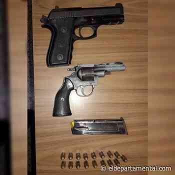 San Cristóbal: Detienen a un policía por amenazas con arma de fuego - El Departamental