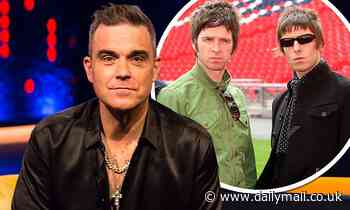 Robbie Williams claims feud with Liam and Noel Gallagher drove him out of the UK