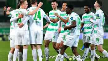 Montagsspiel 2. Liga: Greuther Fürth gewinnt Topspiel gegen Holstein Kiel 2:1