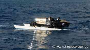 Heiko Saxo Management : Bugatti eröffnet Rallye Monte-Carlo auf Wasserski - Tagesspiegel