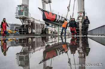 La Rochelle : « Maître Coq », navire vainqueur du Vendée Globe, est mis au sec jusqu'en avril - Sud Ouest