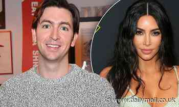 Nicholas Braun tries to woo Kim Kardashian as he muses about why they'd be compatible