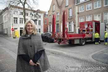Kraanplein wordt groene plek waar je gezellig babbeltje kan slaan - Het Nieuwsblad