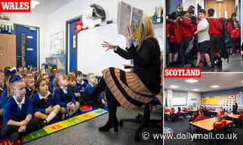 Scots and Welsh pupils begin to return to classrooms - two weeks before English children