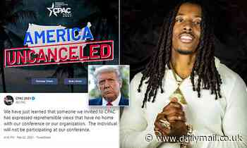 CPAC cancels rapper because they 'learned' about his anti-Semitic views