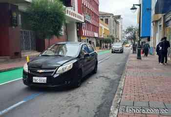 Plan piloto de movilidad en Ambato disminuirá espacios en zona Simert - La Hora (Ecuador)