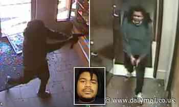 Surveillance footage shows gunman, 27, entering Louisiana gunshop before mass shooting