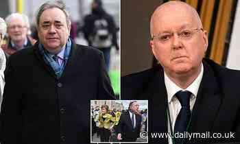 Alex Salmond accuses SNP chief of 'conspiracy' to 'ruin his life'