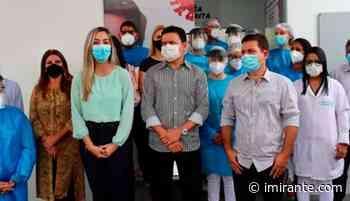 03/02/2021 Barra do Corda ganha centro de síndromes gripais Unidade entregue pelo prefeito - Imirante.com