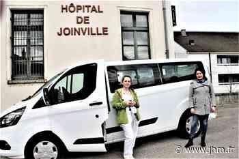 Joinville : un minibus pour les résidents de l'hôpital Sainte-Croix - le Journal de la Haute-Marne