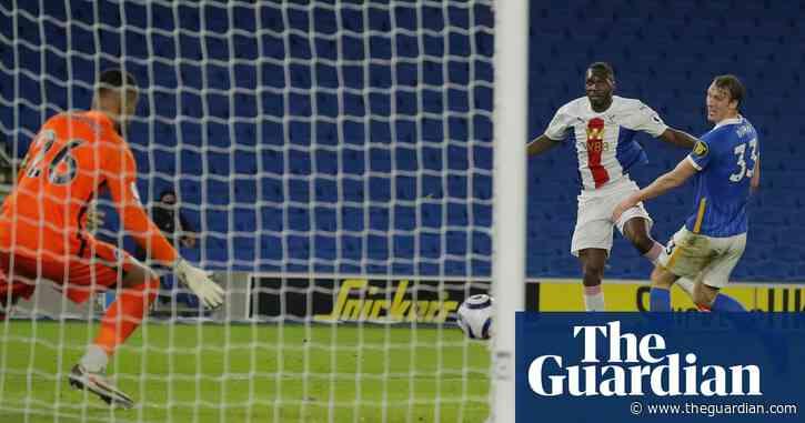 Christian Benteke volleys Crystal Palace to smash-and-grab victory at Brighton