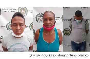 Allanamientos en Pivijay y Aracataca dejan tres capturados por expendio de alucinógenos - HOY DIARIO DEL MAGDALENA