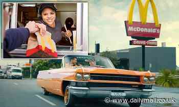 Free McDonald's delivery on Menulog