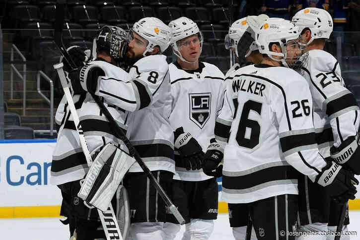 Quick Earns 54th Career shutout, Kings Beat Blues 3-0
