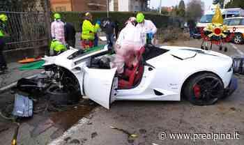 Rovellasca: schianto in Lamborghini, grave - La Prealpina
